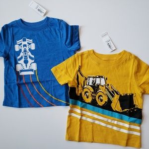 NWT 《Old Navy》12-18 Months Short Sleeve Tees